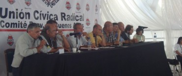 Convención Provincial de la UCR en Olavarría