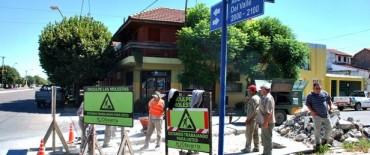 Mejoran calles pavimentadas en la ciudad