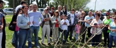 Plan Regulador del Arbolado Público: este fin de semana la carpa se instalará en el Parque Mitre