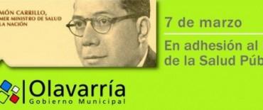 """Día de la Salud Publica: """"el sistema de salud pública de Olavarría es un claro ejemplo de justicia social que reivindica los principios de Ramón Carrillo"""""""