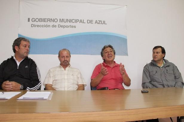 Con el apoyo del Gobierno Municipal de Azul se creó la Asociación Azuleña de Voley