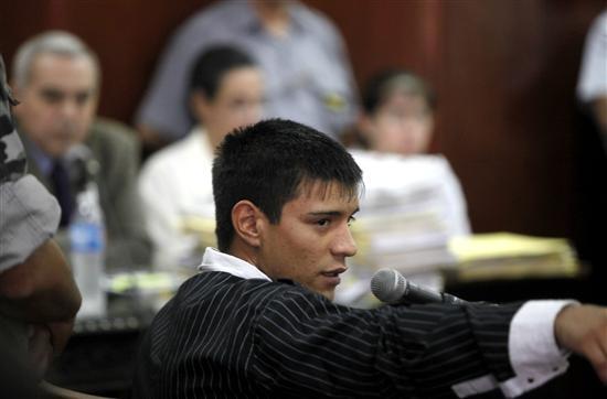 Caso Piparo: Carlos Burgos se autolesionó durante el juicio