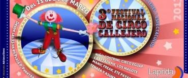 Laprida: Tercer Festival de Circo Callejero