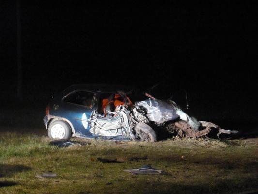 Dos residentes en Alvear fallecieron en un accidente en ruta 205
