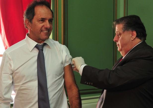 Scioli convocó a vacunarse contra la gripe