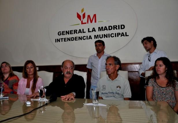 La Madrid: Presentaron el nuevo Código de Edificación