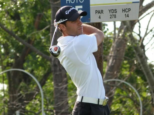 Golf. Juan Manuel Fernández al frente