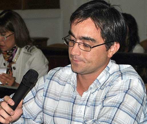 Para el concejal Mariano Ferro el discurso de José Eseverri fue pobre
