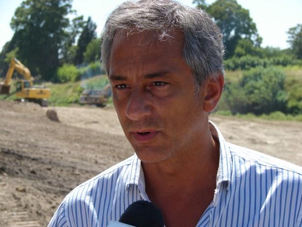 Obras para prevenir inundaciones: Eseverri destacó la continuidad de una política sostenida en materia hidráulica