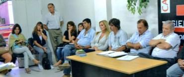 En Sierra Chica comenzaron las reuniones de la Mesa de Gestión Territorial