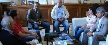 Eseverri encabezó una reunión para abordar cuestiones hídricas de la Séptima Sección