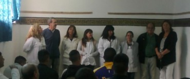 Unos 700 estudiantes comenzaron el ciclo lectivo en las escuelas que funcionan en la Unidad 2 de Sierra Chica