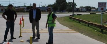 El Gobierno Municipal sigue trabajando en darle más seguridad vial a Loma Negra