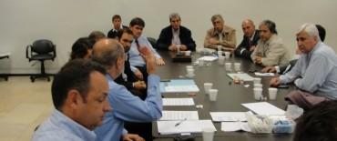 Alvear: Cellillo participó de una reunión de jefes comunales radicales