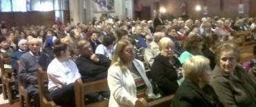 En Olavarría se celebró la asunción del Papa