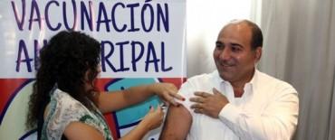 Se comenzó con la vacunación antigripal en Olavarría