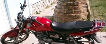 Detuvieron a un joven por el hurto de una motocicleta