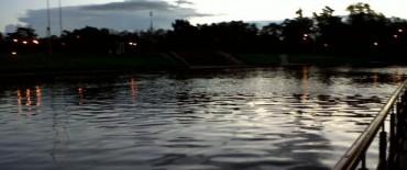 El arroyo se está comportando muy bien