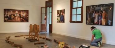 Comenzó el montaje de las obras  de Marcos López en el Centro Cultural San José