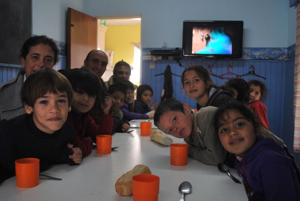 El Intendente Eseverri visitó el Centro de Día N° 4