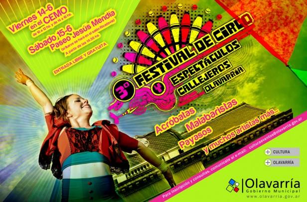 Comienza el 3º Festival de Circo Callejero y este año se incorporan artistas locales