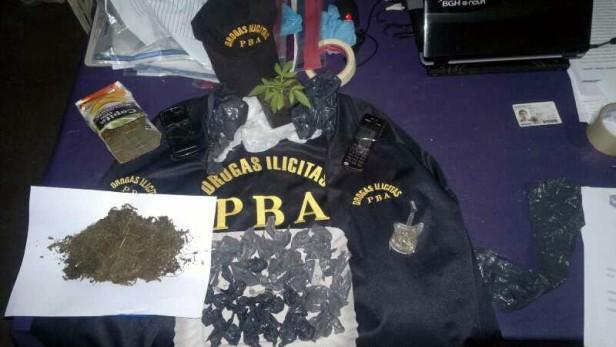 Aprehendieron a dos presuntos vendedores de droga