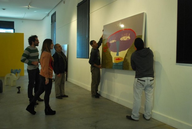 Continúa la muestra de Milo Lockett en el Centro Cultural San José