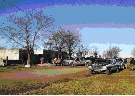 Allanamientos de Patrulla Rural en el barrio El Progreso