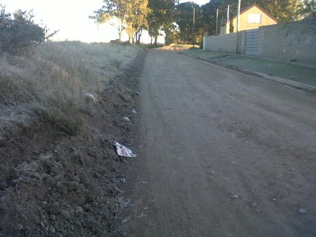 Calles no pavimentadas: destacan el trabajo en varios frentes a la vez