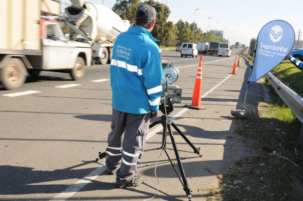 Seguridad vial detectó 640 casos de exceso de velocidad y 88 de alcoholemia positiva