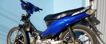 En operativos policiales dan con motocicletas robadas