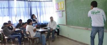 Programa Rayuela: continúan los talleres en establecimientos educativos