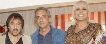 Valeria Lynch y Alejandro Lerner en la 6ª Fiesta Aniversario Olavarría