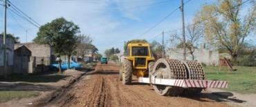 Se realizan trabajos en calles no pavimentadas en el Barrio Pikelado