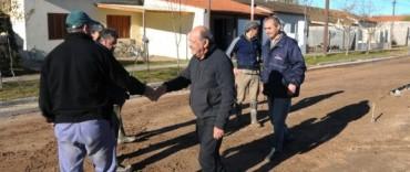 General La Madrid: Recorrida del Intendente por algunas obras en marcha en La Madrid