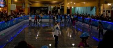 El Gobierno Municipal acompaña la llegada de la Pista de Patinaje sobre hielo