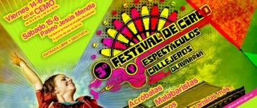 Ya llega el 3°  Festival de Circo Callejero a Olavarría