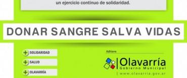 Día Mundial del Donante Voluntario de Sangre: Colectas en el Hospital Municipal