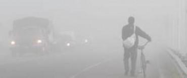 Se solicita extremar las medidas de precaución en el manejo ante la intensa niebla