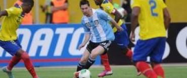 Argentina empató ante Ecuador uno a uno.