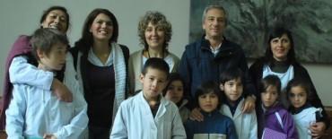 Eseverri recibió a los chicos de la Escuela N° 24