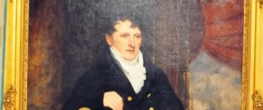 El retrato de Manuel Belgrano, patrimonio de Olavarría, se expone en la Casa de Gobierno de Jujuy