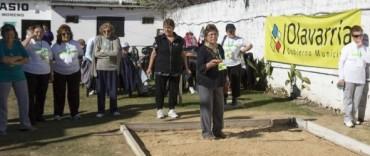 Actividades deportivas para adultos mayores organizadas por la Dirección Municipal de Deportes