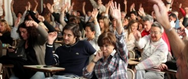 Trabajadores de la Universidad de Mar del Plata en plan de lucha
