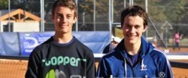 Emilio Falabella y Brian Degenhart ganadores en tenis