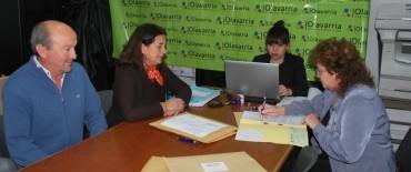 Apertura de la licitación para la construcción del entoscado del camino de Mapis a Iturregui