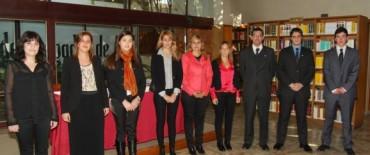 Jura y bienvenida a nuevos abogados matriculados
