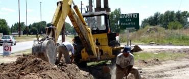 Liberación al Servicio Público de la red de agua corriente en los barrios Belén y Eucaliptus