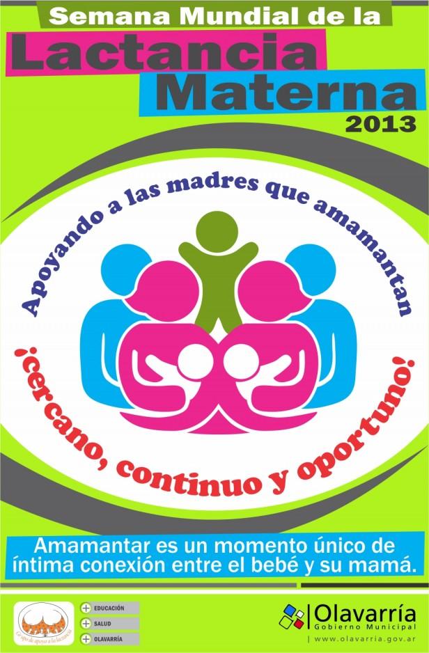 Capacitación para profesionales de la salud en el marco de la Semana Mundial de la Lactancia Materna 2013