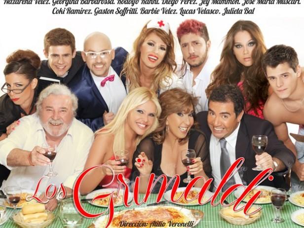 """Llegan """"Los Grimaldi"""" a Olavarría"""